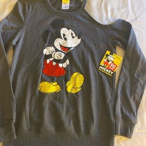 Vintage Disney Cold Shoulder Lite Sweat Shirt